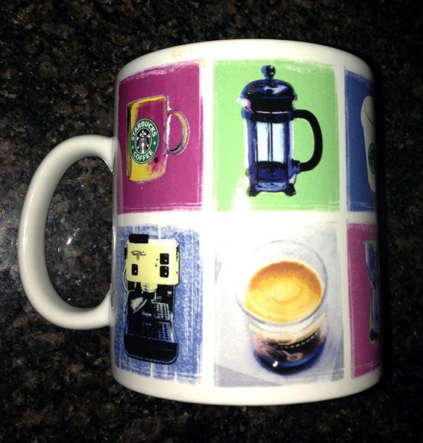 Starbuck's Barrista Mug