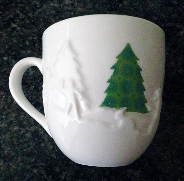 Starbuck's Christmas tree mug