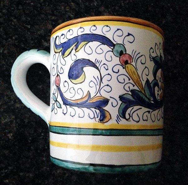 Italian mug