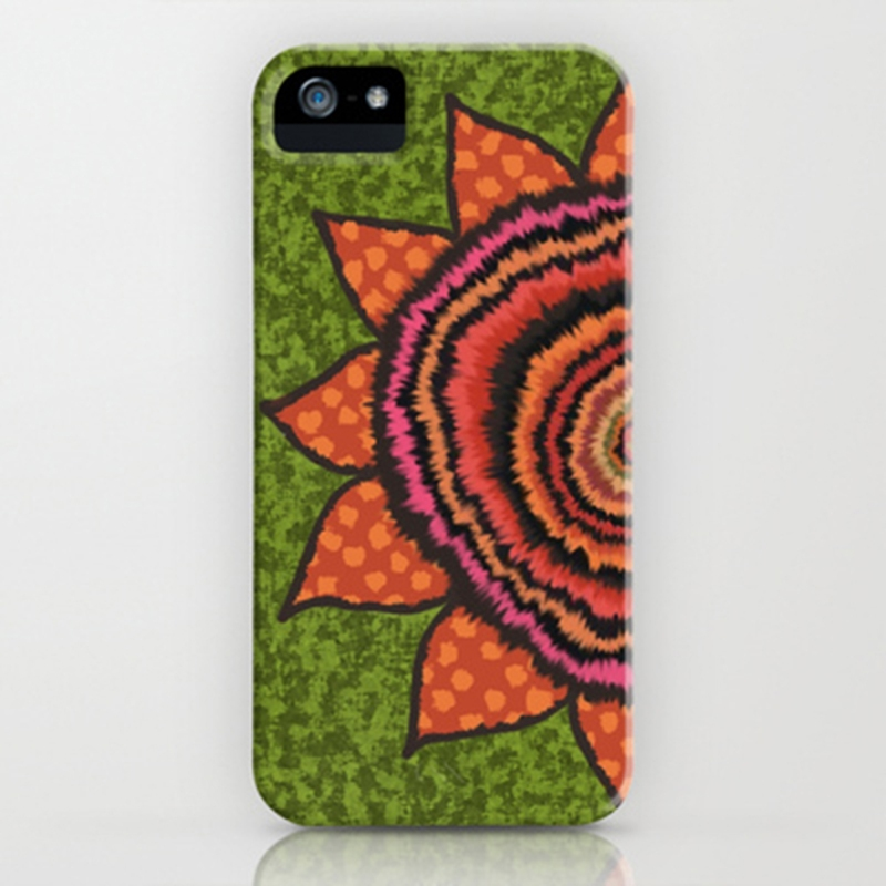 Gypsy Sunflower iPhone case