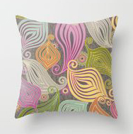 """Zenyatta Mandala"" pattern pillow from Society6.com"
