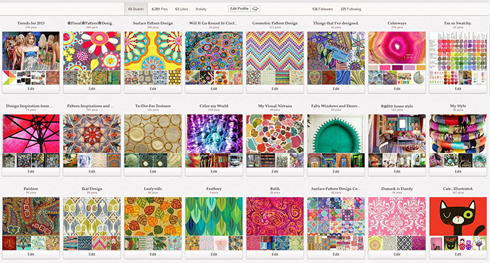 My Pinterest Page
