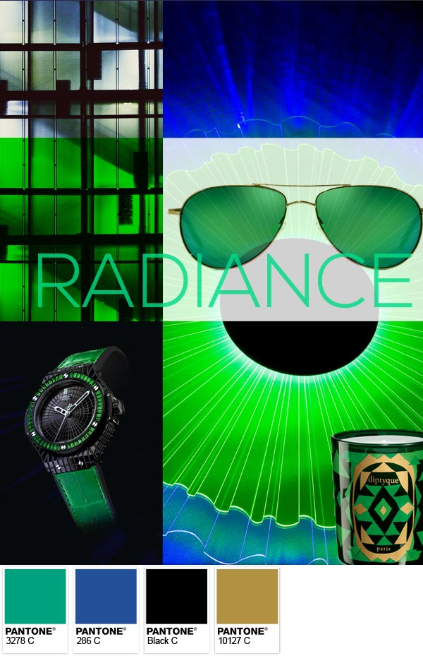 Pantone-Radiance Moodboard