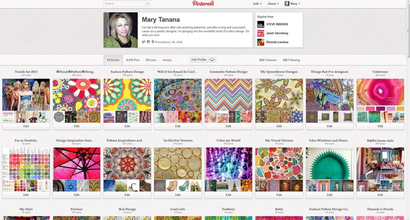 Join me on Pinterest-my home page