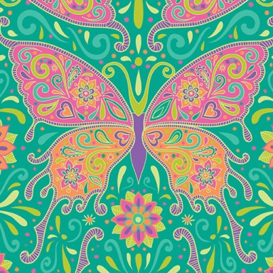 Butterflies are Free to Fly-motif