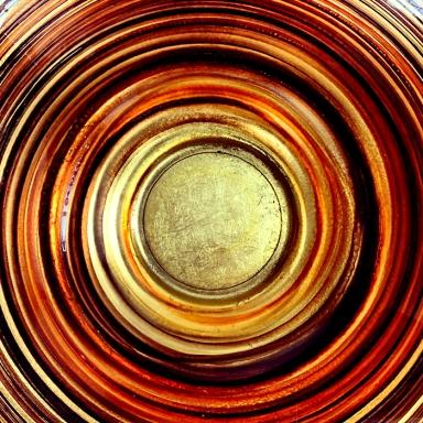 #glass #crateandbarrel #circle #circular #copper #gold