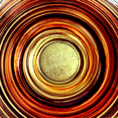 #glass #crateandbarrel #circle #circular #copper #gold