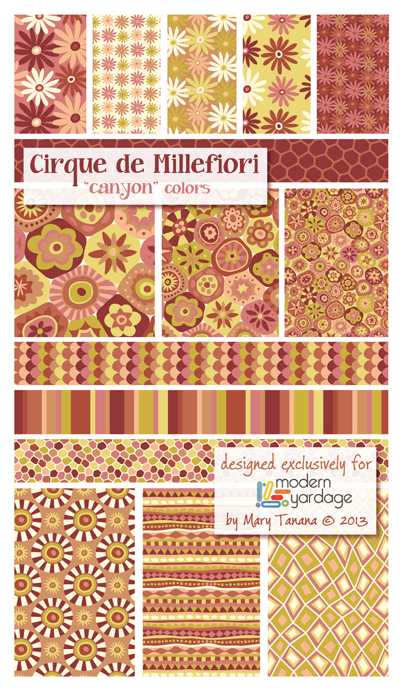 Cirque de Millefiori-Canyon Colorway