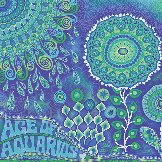 """Age of Aquarius""  by Mary Tanana © 2013"
