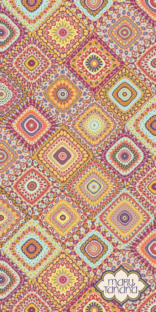 Granny's Millefiori Quilt by Mary Tanana © 2014