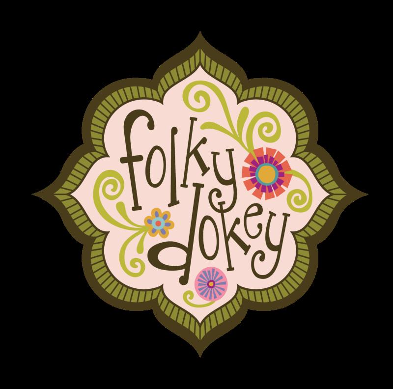 Folky Dokey logo_Celebrate-© Mary Tanana 2014