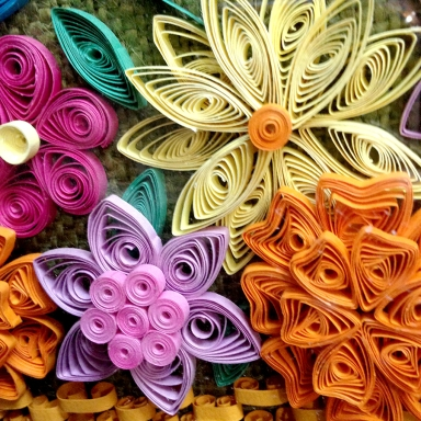 Quilling by Mary Tanana