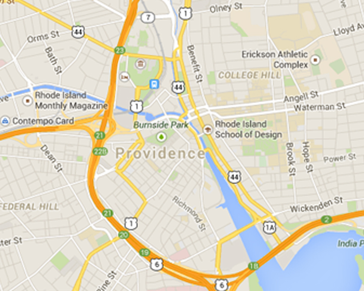 providence map
