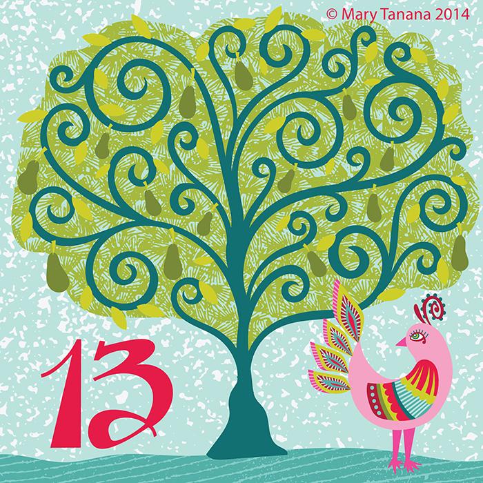 #adventchallenge2014 Day 13 © Mary Tanana 2014