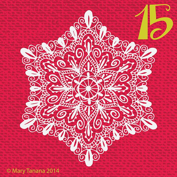 #adventchallenge2014 Day 15 © Mary Tanana 2014