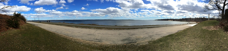 rocky point park-panorama-beach-narragansett bay © Mary Tanana 2015