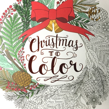 Christmas to color-Mary Tanana-Groovity Designs